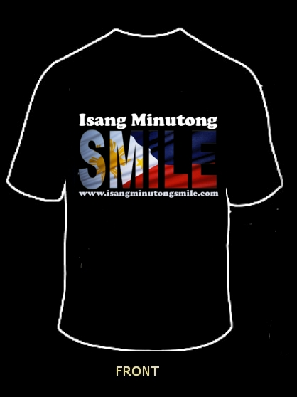 SMILE Shirt Sample